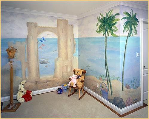 Jeanie garrison trompe l 39 oeil murals portfolio page 4 for Deco trompe l oeil mural